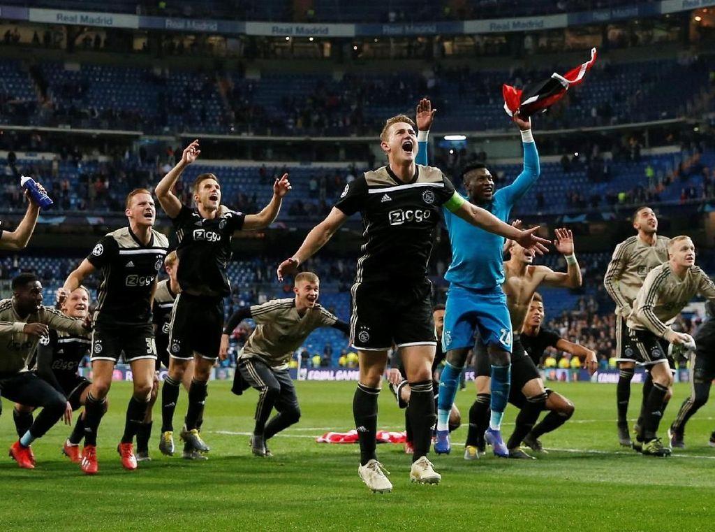 Singkirkan Madrid Belum Cukup Memuaskan Ajax