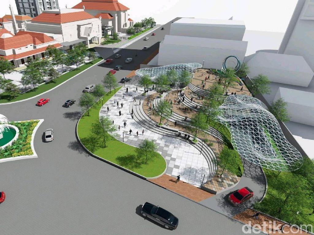 Proyek Alun-Alun Surabaya, Pemkot: Jalan Yos Sudarso Ditutup 6 Bulan