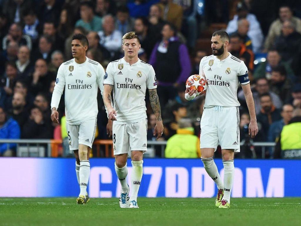 Madrid dalam Sepekan: Kehilangan Dua Trofi, LaLiga pun Sudah Berat
