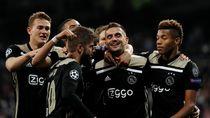 Sukses Singkirkan Madrid, Pelatih Ajax Puji Pemain