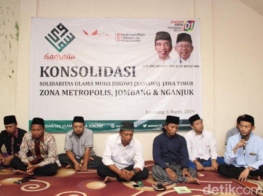 Redam Fitnah, Solidaritas Ulama Muda Jokowi Ziarah ke Pendiri NU