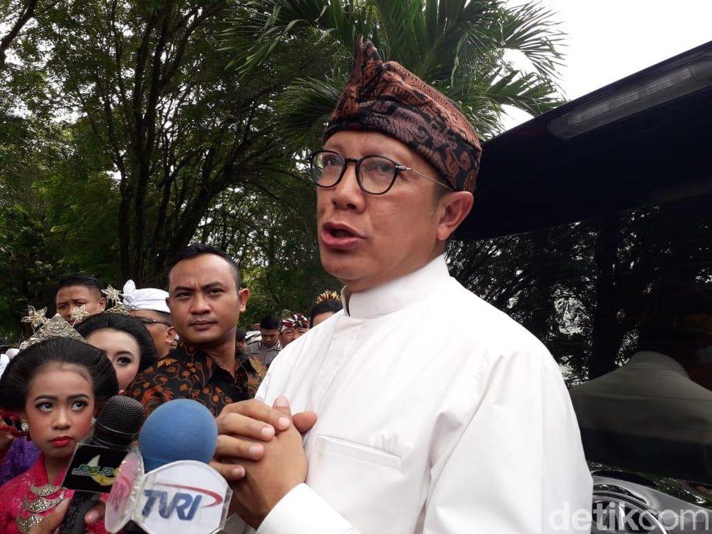 Hadiri Tawur Kesanga di Prambanan, Menag Ajak Wujudkan Pemilu Damai