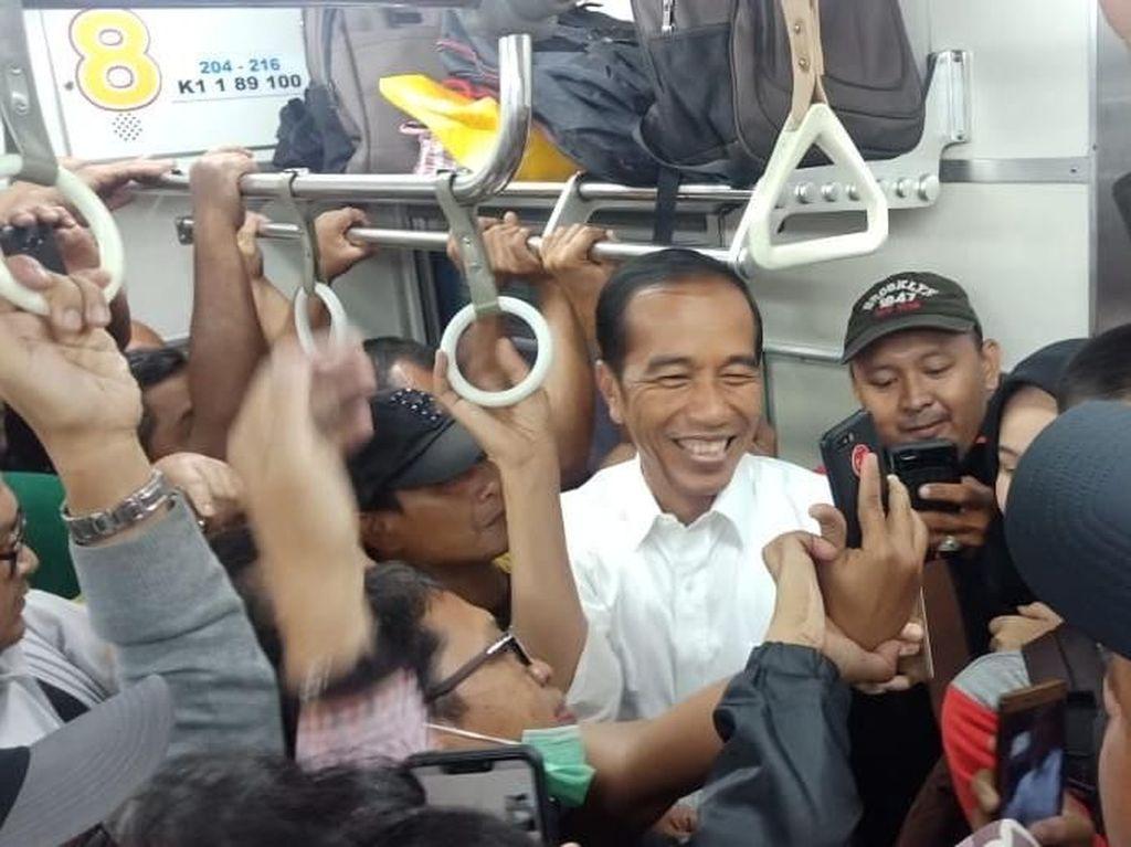 TKN Pertanyakan Rocky Gerung Soal KRL Sudah Disterilisasi untuk Jokowi
