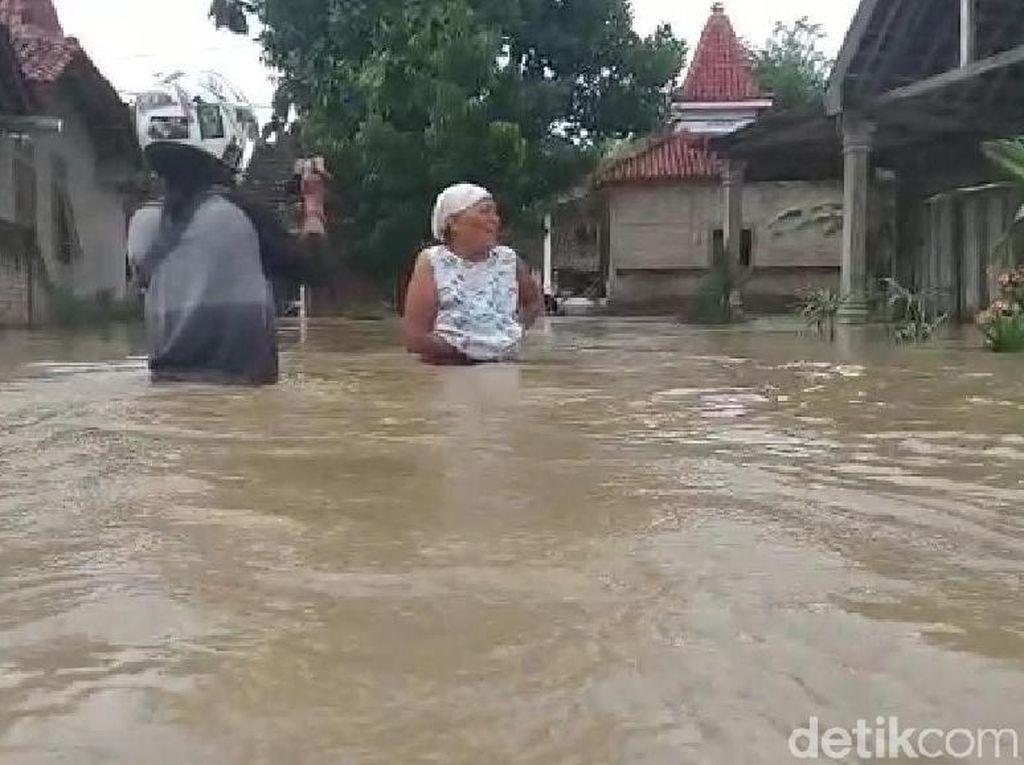 Dari Madiun, Banjir Meluas ke Ngawi, Rendam 10 Desa
