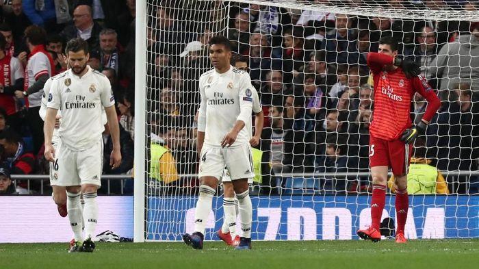 Jumlah kekalahan Real Madrid melonjak naik musim ini, di mana Los Blancos sudah kalah 15 kali. (Foto: Sergio Perez/Reuters)
