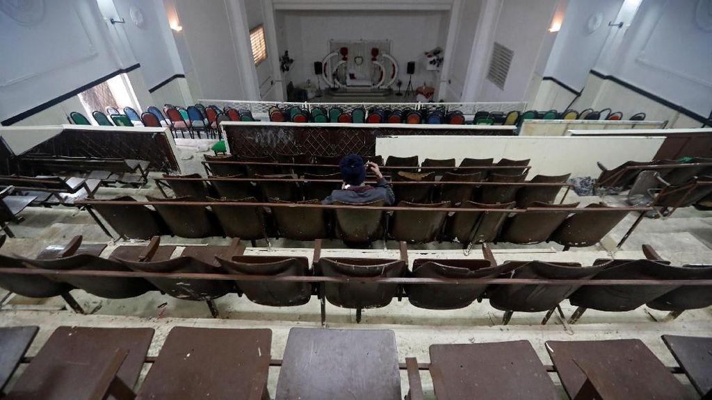Gedung Bioskop Pertama di Tepi Barat Ini Jadi Balai Pernikahan