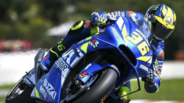 Joan Mir menjadi salah satu rookie baru di MotoGP 2019.