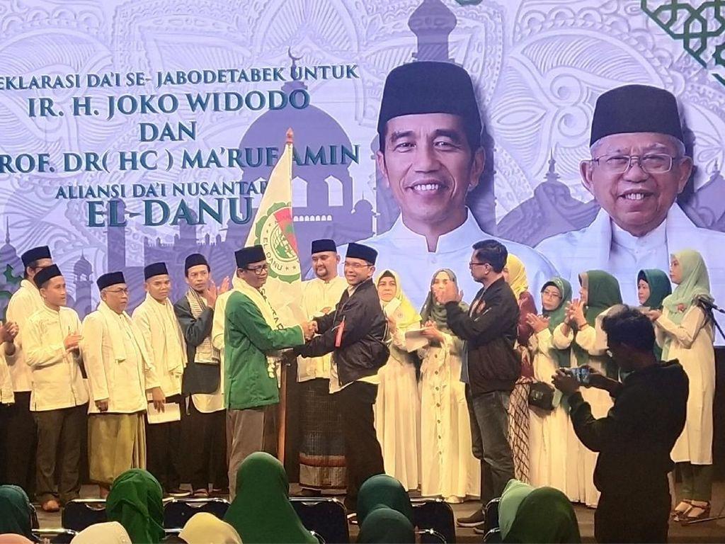 Deklarasi Dukungan ke Jokowi-Maruf, Ketua El-Danu: Hukumnya Fardu Ain