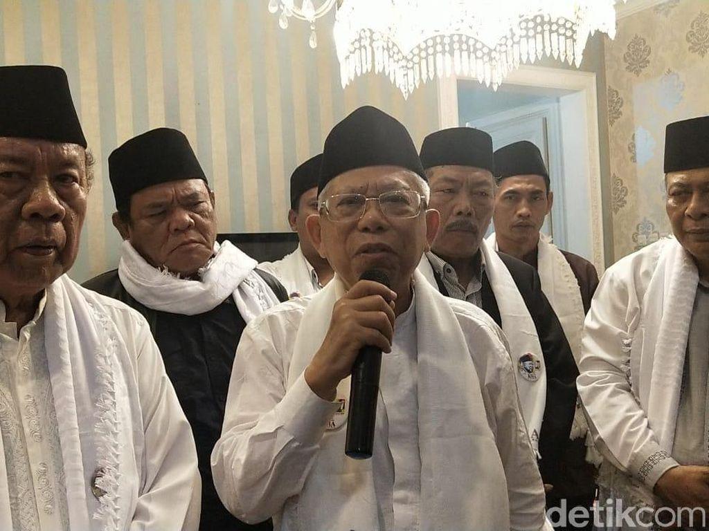 Maruf Amin Bicara soal KIS dan Kelanjutan Program SBY