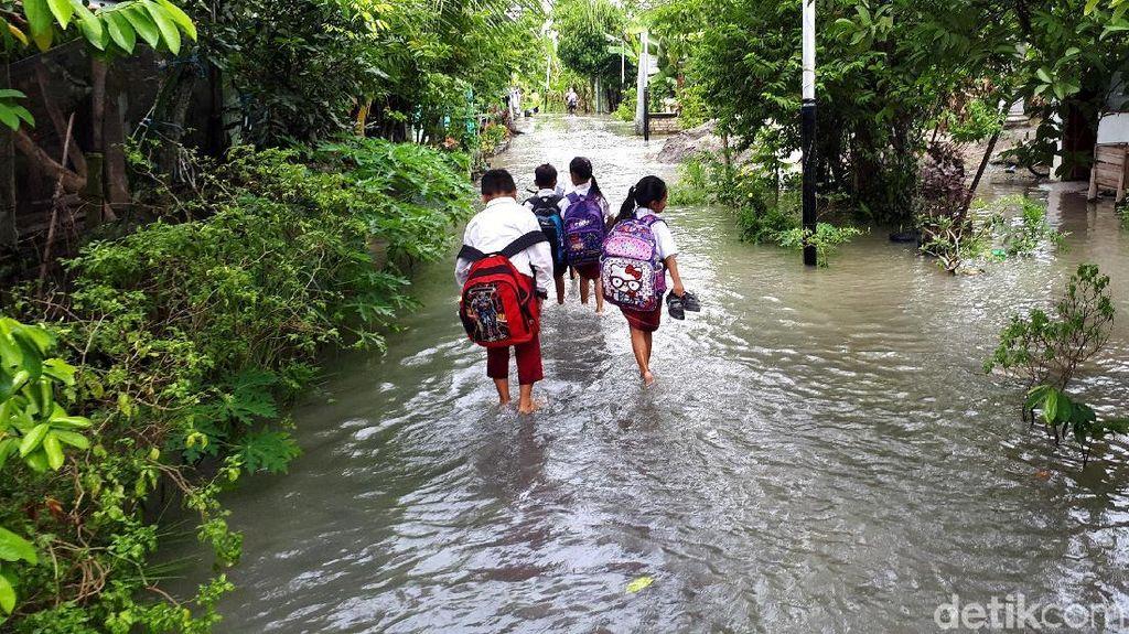 45 Desa di Bojonegoro Terendam Banjir Imbas Luapan Bengawan Solo