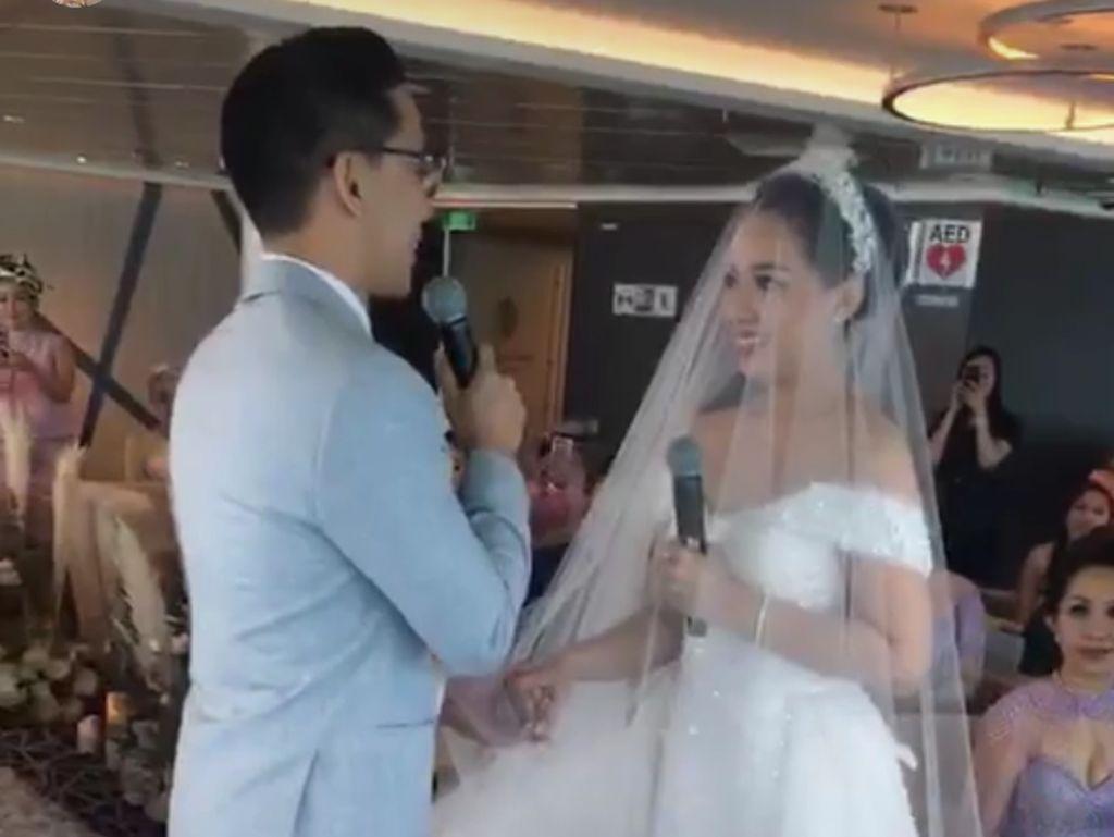 Ucapkan Janji Pernikahan, Yuanita Christiani Buat Tamu Undangan Tertawa