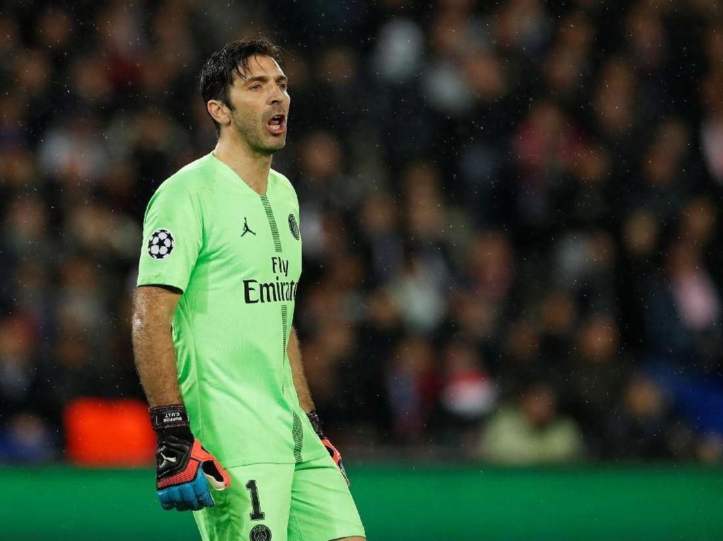 Gianluigi Buffon Tinggalkan Paris Saint-Germain