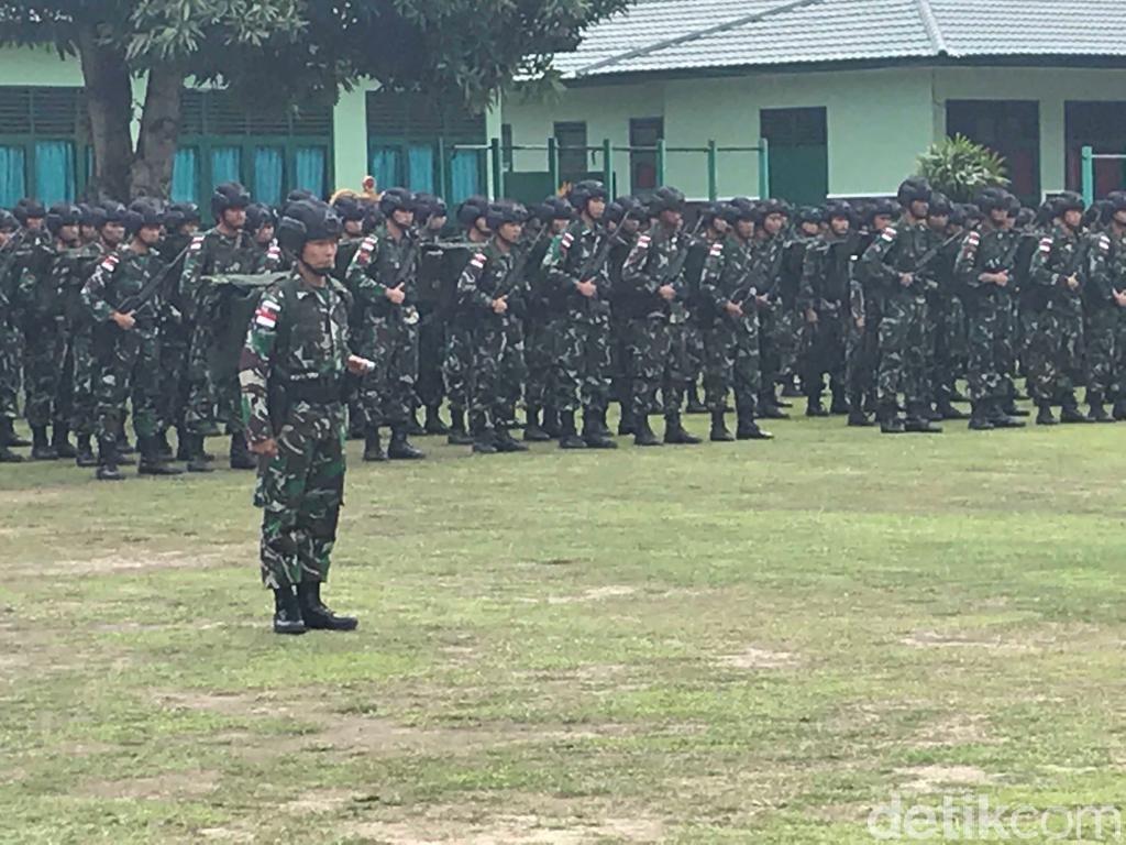 2 Batalion Prajurit TNI Diterjunkan, Lanjutkan Bangun Trans Papua