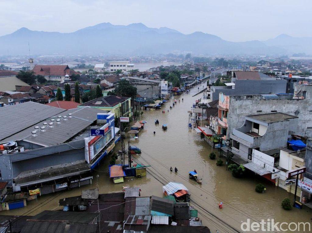 Pemkab Bandung Tetapkan Status Tanggap Darurat Banjir