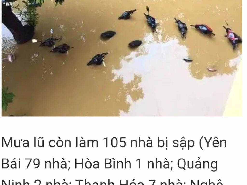 Ramai Foto Banjir Rendam Motor Disebut di Jakarta, Faktanya di Vietnam