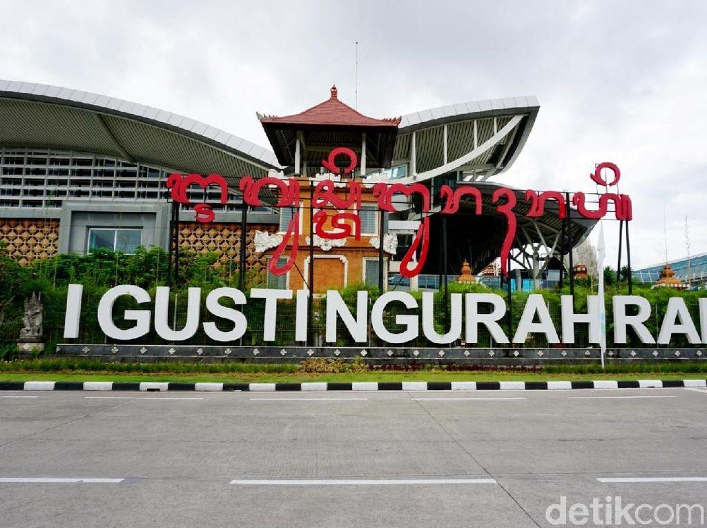 Suasana Bandara Ngurah Rai yang Senyap Saat Nyepi