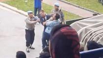 Detik-detik Pelatih Persib Miljan Radovic Diserang Bobotoh