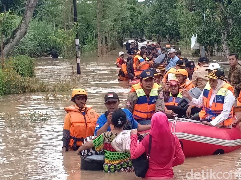 Ini Data Banjir dan Dampaknya yang Melanda 15 Kabupaten di Jatim
