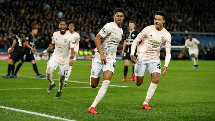 Man United melakukan comeback gemilang, sedangkan Real Madrid tersingkir lebih awal di Liga Champions. (Foto: John Sibley/Action Images via Reuters)