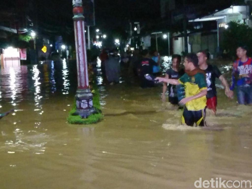 Hujan Deras, Sejumlah Wilayah di Trenggalek Banjir