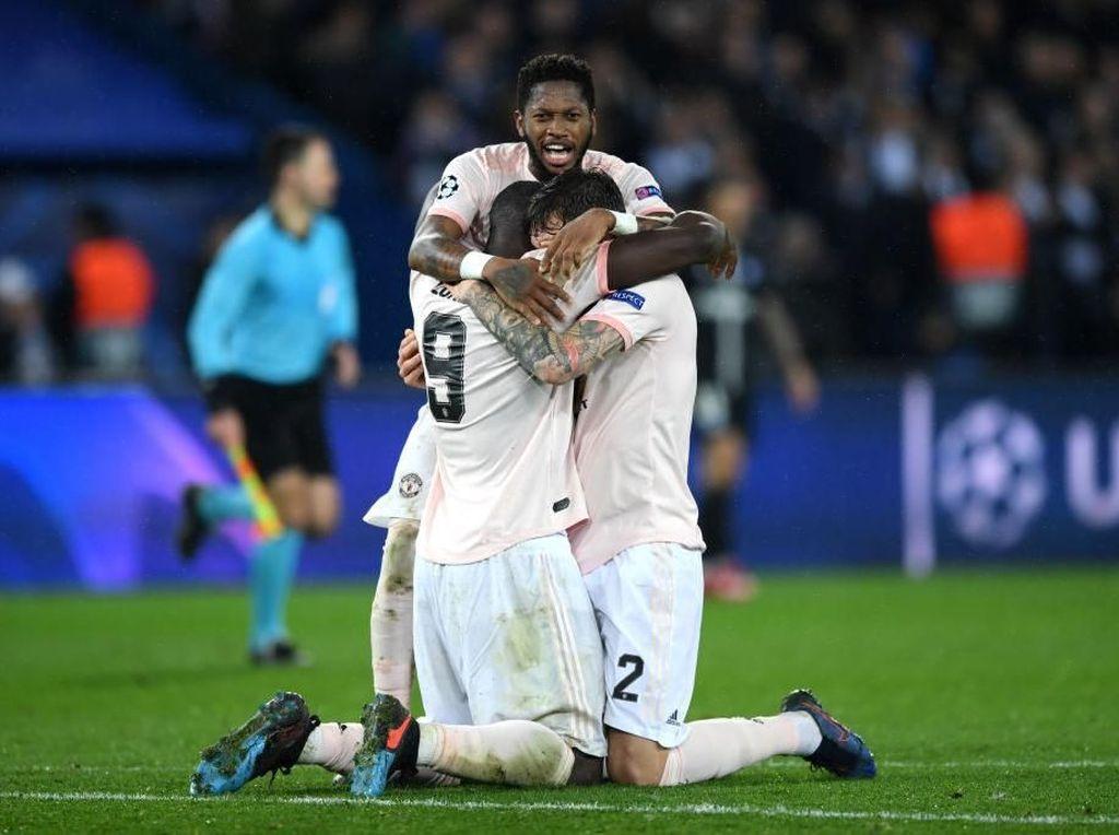 Bahagia  MU dan Tangis PSG di Paris