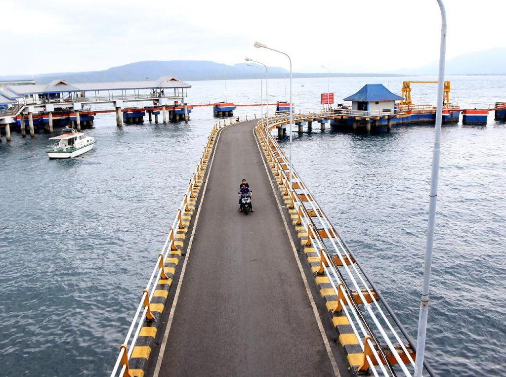 Suasana Pelabuhan Ketapang Selama Nyepi