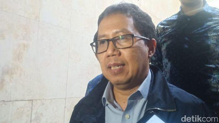 PSSI akan segera menggelar rapat darurat setelah Joko Driyono dtahan Satgas Anti Mafia Bola. (Wildan/detikSport)