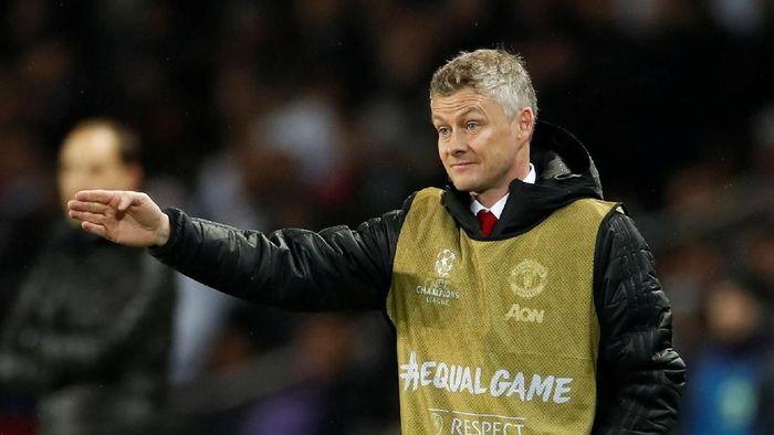 Manajer Manchester United, Ole Gunnar Solskjaer. (Foto: Christian Hartmann/Reuters)