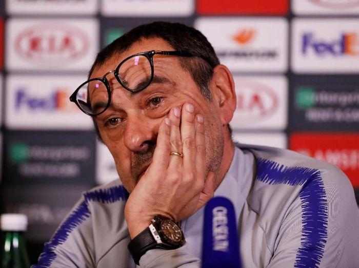 Manajer Chelsea, Maurizio Sarri. (Foto: Matthew Childs/Reuters)