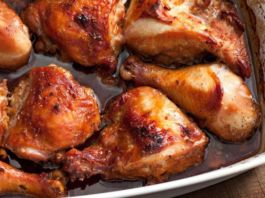 Masak Apa Hari Ini : Ayam Kecap dan Sup Kacang Hijau Buat si Kecil