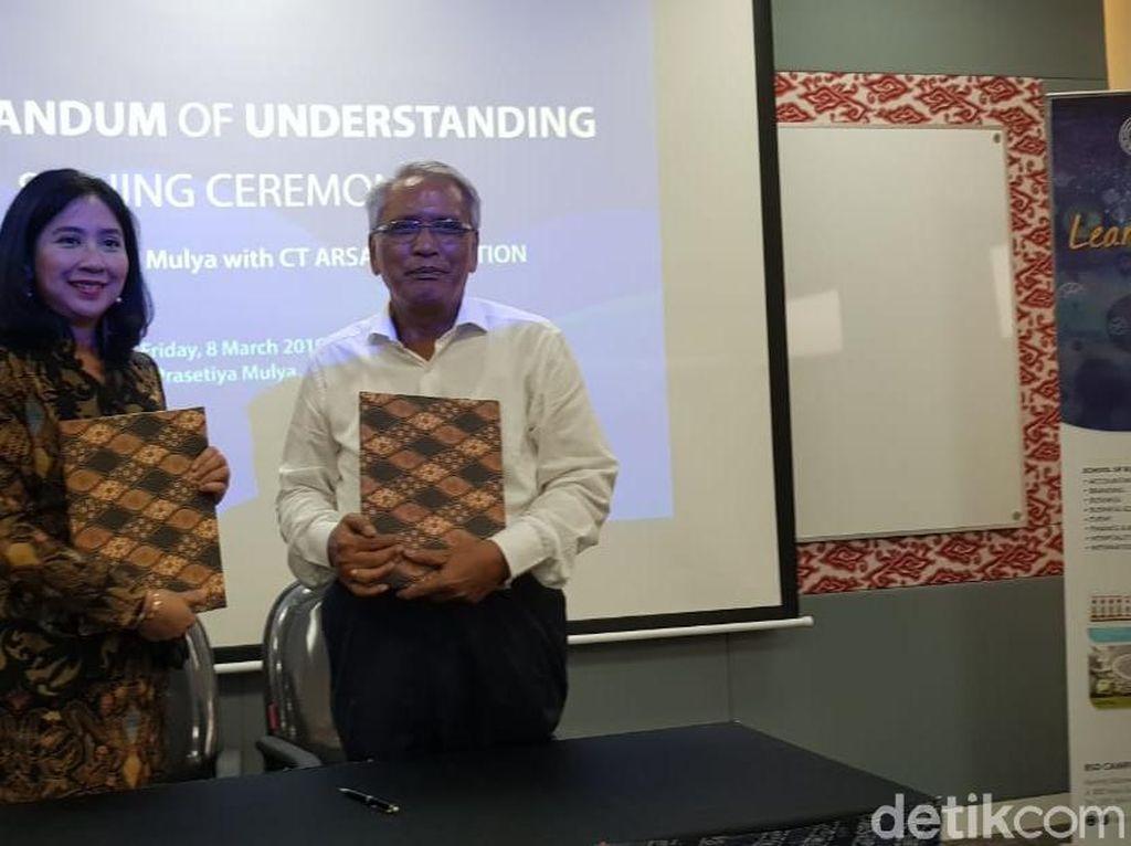 CT ARSA-Prasetiya Mulya Teken Mou Kerja Sama Pendidikan