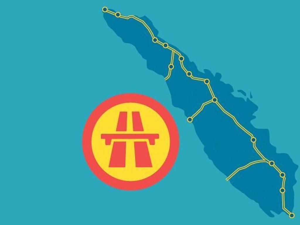1.000 Km Jalan Tol untuk Sumatera hingga 2021