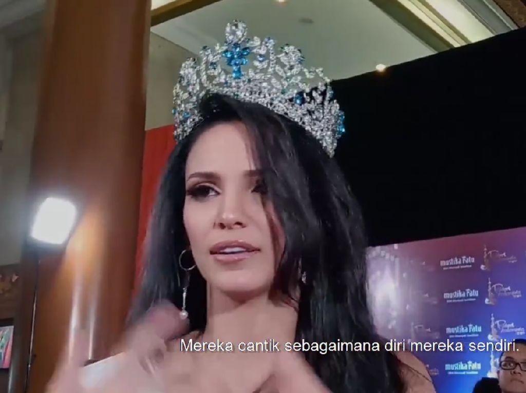 Datang ke Indonesia, Miss Supranational Titip Pesan untuk Para Wanita