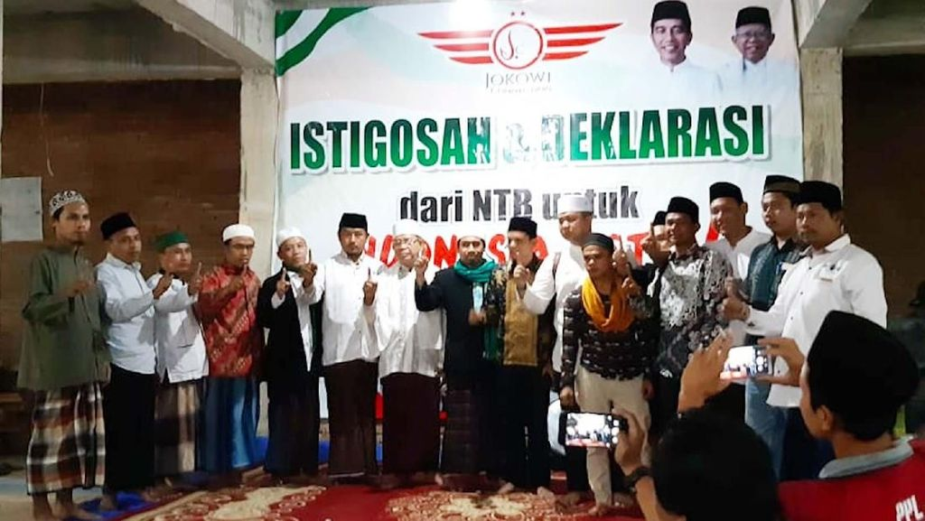 Istigosah dan Dukungan dari NTB untuk Jokowi-Maruf