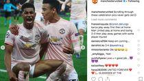 MU Tak Henti Rayakan Kemenangan Atas PSG di Instagram