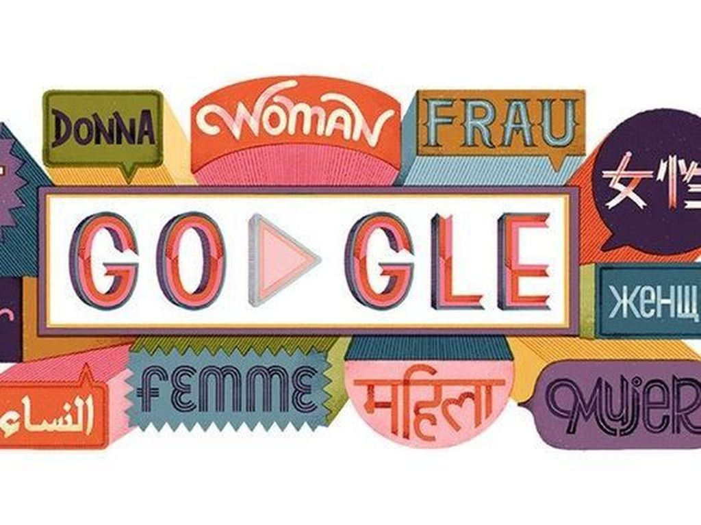 13 Kutipan Inspiratif Google Doodle di International Womens Day