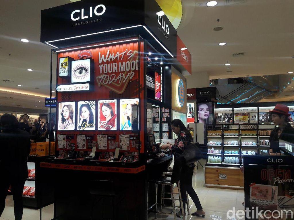 Brand Makeup Korea Clio Buka Toko Department Store Pertama di Indonesia