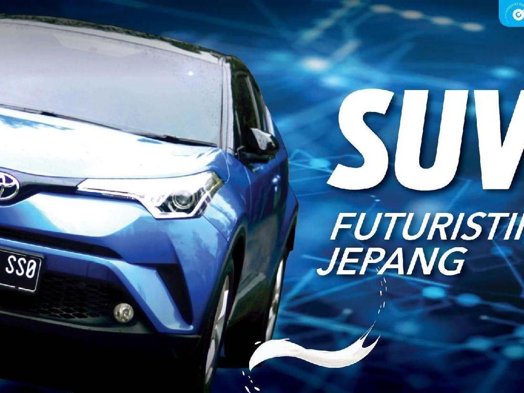 Perkenalkan, SUV Futuristik Jepang dengan Cita Rasa Eropa