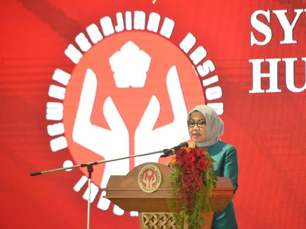 HUT Ke-39 Dekranas, Mufidah Kalla Bicara Produk Kerajinan RI Kian Bersaing