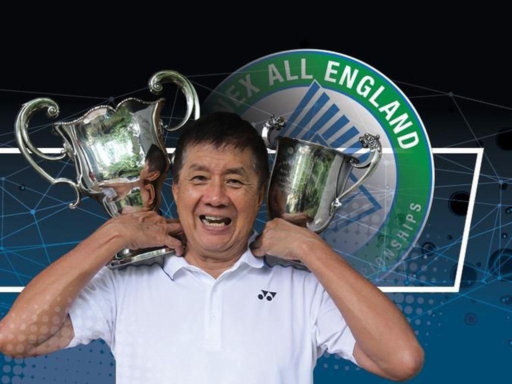 Potret Legenda Bulutangkis Rudy Hartono Sang Juara All England 8 Kali