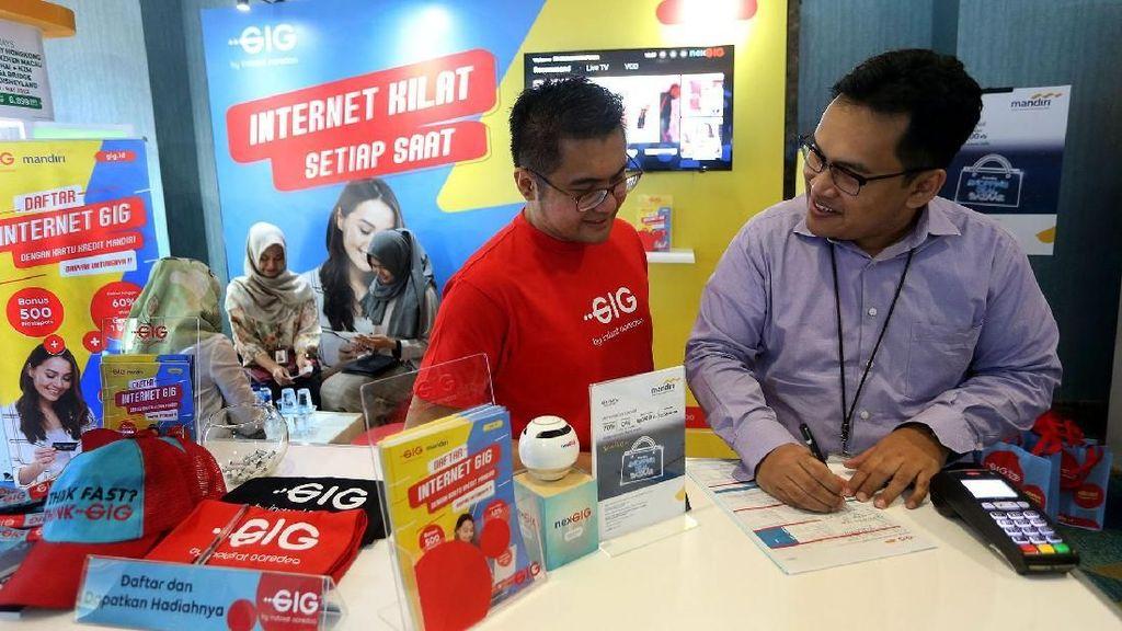 Indosat Ooredoo dan Bank Mandiri Berkolaborasi
