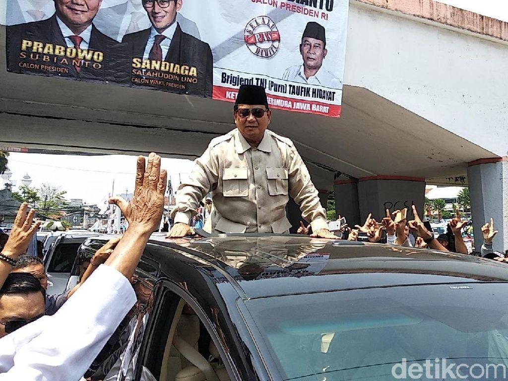 Prabowo akan Awali Kampanye Akbar di Makassar