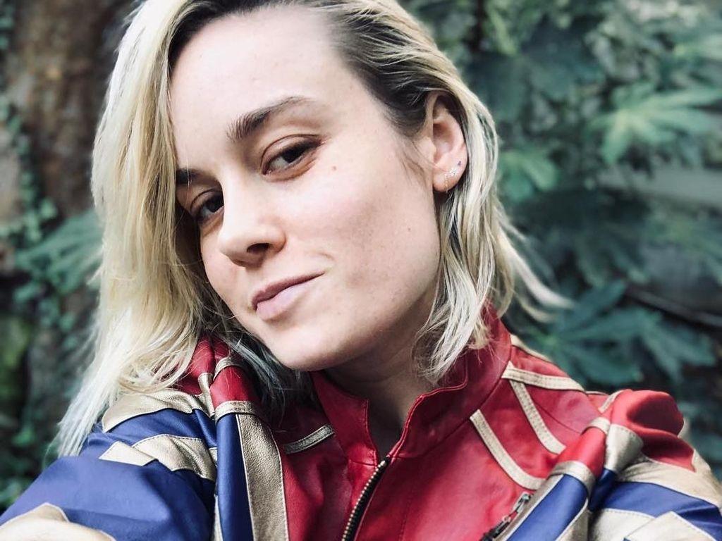 Reaksi Brie Larson saat Tahu Berperan Sebagai Captain Marvel