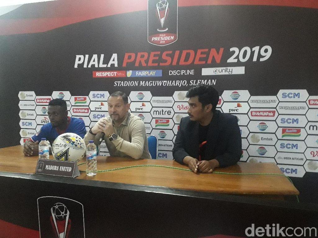 Pelatih Sebut Madura United Kehilangan Konsentrasi