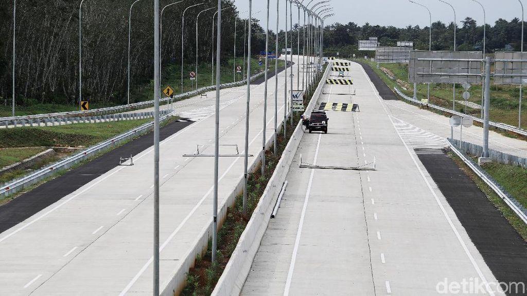 Penampakan Tol Terpanjang RI Sejak Dibangun hingga Beroperasi
