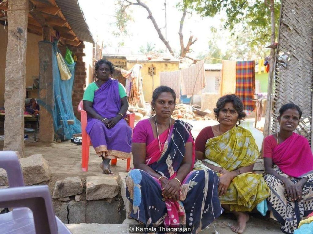Seperti Baduy, Orang-orang India Ini Tidak Pakai Alas Kaki