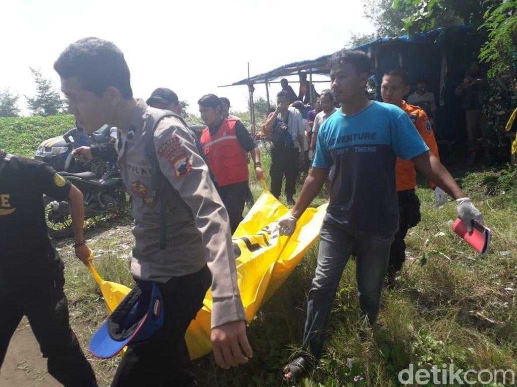 Sesosok Mayat Pria Tanpa Busana Ditemukan di Pantai Larangan Tegal