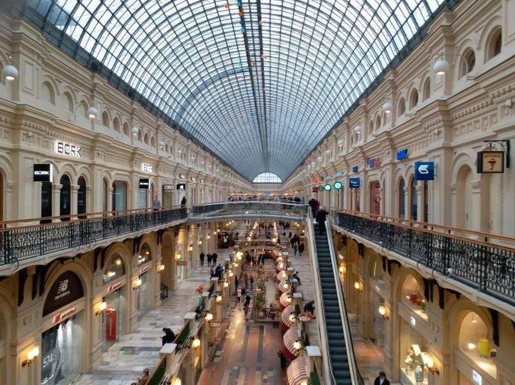 Begini Mewahnya Mal Terbesar di Rusia