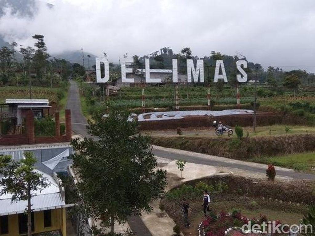 Foto: Curug Delimas Nan Cantik Dekat Borobudur