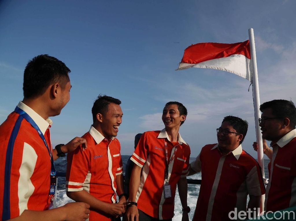 Ini Prajurit BRI di Pulau Terluar Jakarta